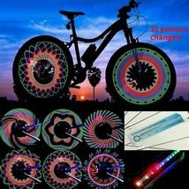 Fahrrad-Rad-Licht-Doppelanzeige-Blitz-RGB-LED-Licht Fahrrad-Speichen-Lam... - $27.32+