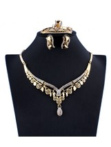 Women's Wedding Jewelry Set Crystal Drops Shaped Clothing Accessories Set - $20.99
