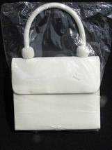 Brand New in the Bag Formal Wedding/Bridal Champagne/Ivory Purse with Beads - $6.99