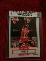 Certificate of Authenticity MICHAEL JORDAN 1990-91 90-91 Fleer #26 Chica... - $24.75