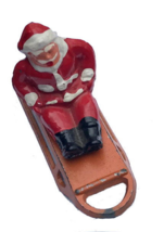 An item in the Toys & Hobbies category: B194 Barclay Santa Claus on Sled ca 1935