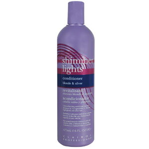 Clairol Professional Shimmer Lights Blonde & Silver Conditioner, 16 oz