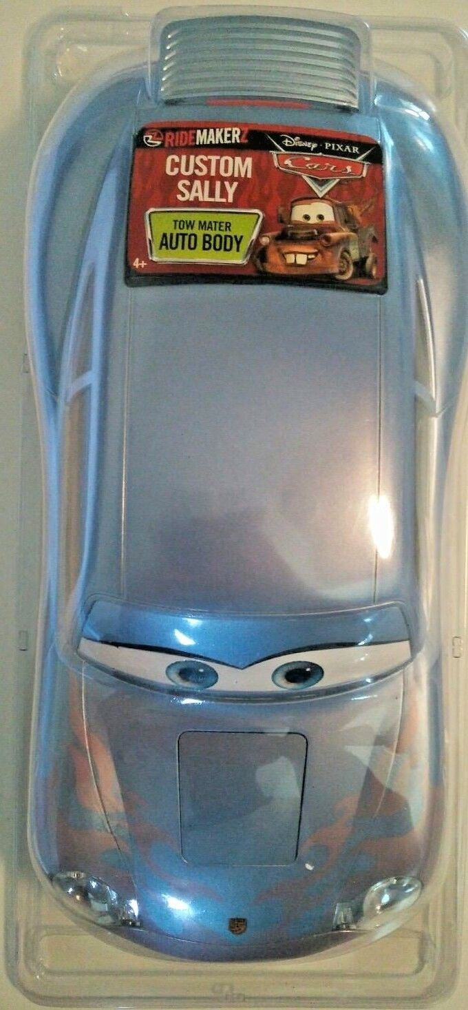 Disney Cars Ridemakerz Custom Sally RC Shell Blue Ridemakerz Auto NEW
