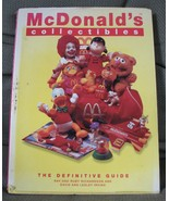 Vintage Book McDonalds Collectibles Guide 1970 to 1997 Happy Meals - $40.00