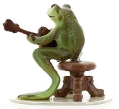 Hagen-Renaker Specialties Froggie Mountain Breakdown Bluegrass Frog Mandolin  image 5