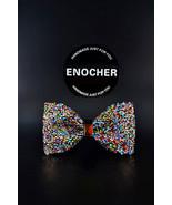 Colorful Rhinestone Bow Tie,Men Bow Tie,Gentleman,Business,Wedding,Gift,... - $27.99
