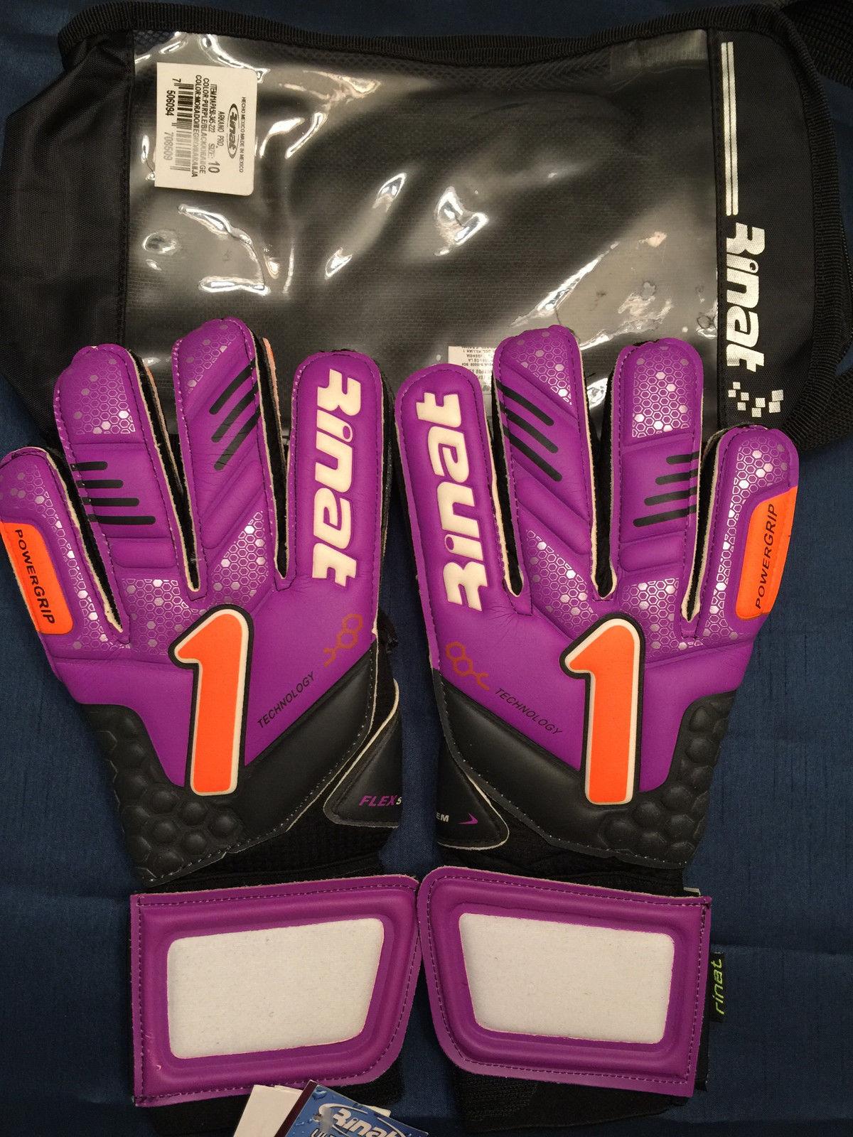 Goalkeeper New RINAT FENIX QUANTUM PRO GOALIE SOCCER GLOVE Size 8 Futbol