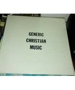 Generic Christian Music vinyl LP 1983 - $19.99