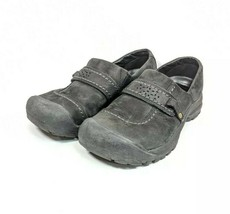 Merrell Trail Hiking Shoes Womens Sz 7/37.5 Med Black Leather (sb19ep) - $29.99