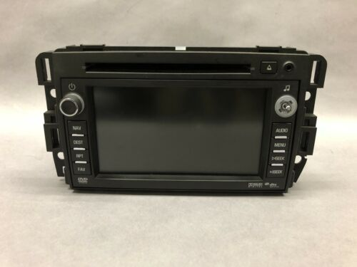 Primary image for 2011 GMC ACADIA AM FM AUDIO VIDEO DISK NAVIGATION RECEIVER DISPLAY OEM