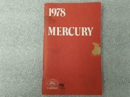 1978 MERCURY Owners Manual 15900 - $16.78
