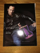 ABSOLUT AU KURANT - TOM FORD - 2000 Magazine Print Ad - $4.49