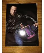 ABSOLUT AU KURANT - TOM FORD - 2000 Magazine Print Ad - $4.49