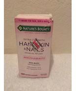 Nature's Bounty Hair Skin & Nails Extra Strength 150 Softgel Exp. 02/2021 - $12.96
