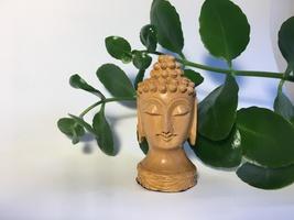 Wooden Buddha Statue Free Shipping - $15.00