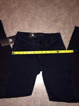 Rock And republic Bruised Jeans Size 0 Legging Dark Wash - $21.78