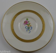 Vintage Theodore Haviland China Kenmore Pattern Footed Cup Saucer Collectible - $9.99