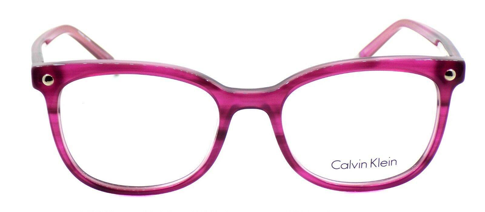 Calvin Klein CK5972 606 Women's Eyeglasses Frames Cyclamen 52-18-140 + CASE