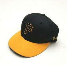 New Era Pittsburgh Pirates 5950 2018 OF Prolight BP Fitted Hat Black Siz... - $34.00