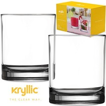 Plastic Tumbler Cups Drinking Glasses - Acrylic Reusable unbreakable and... - $11.84