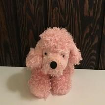 "Ganz Webkinz Pink Poodle Beanie Plush Stuffed Animal 8"" No Code - $10.61"