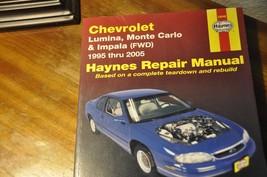 Haynes Chevrolet Lumina,Monte Carlo&Impala 95-2005 Repair Manual - $9.99