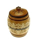 Doulton Lambeth c1895 5.5 inch Tobacco jar - $318.50