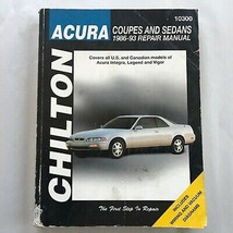 ACURA Coupes/Sedans 1986-93  Repair Manual, Service, Maintenance. Chilto... - $12.38