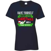 Have A Merry Christmas And A Happy Lockdown Ladies T Shirt image 8