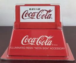 Dept 56 NIP Illuminated COCA-COLA NEON SIGN - $11.30