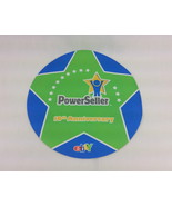 Mouse Pad eBay Powerseller Chicago 2008 10th Anniversary Thin NEW Green ... - $7.42