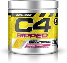 CELLUCOR C4 RIPPED Pre-workout Raspberry Lemonade 30 servings Exp. 09/20... - $38.78