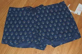 Quicksilver Coverup Shorts Size 3 Junior Navy Blue Floral MSRP:$49.50 Nwt - $13.99