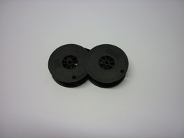 Kmart 300 Deluxe 12 Typewriter Ribbon Black and Red Twin Spool image 2