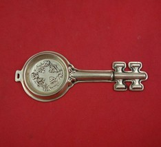 "Reed and Barton Sterling Silver Wine Taster Key Shape 3 3/4"" - $189.00"