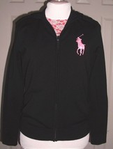 RALPH LAUREN BLACK LABEL MEN'S BIG PONY HOODIE JACKET MERINO BLEND SIZE ... - $99.99