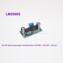 Step Down DC Convertisseur 3.5-40v zu 1.5-35v 3A Contrôleur tension LM2596S - $5.68