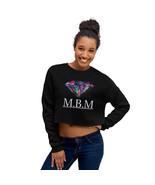 M.B.M's Crop-Top Sweatshirt - £26.90 GBP