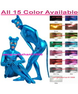New 15 Color Shiny Metallic Fantasy Bodysuit Catsuit Costumes Unisex Outfit S954 - $45.99