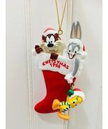 1998 Vintage Warner Brothers Studio Store Christmas Annual Ornament  22720 - $29.69