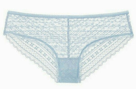 Large Soft Baby Blue THE LACIE All Lace Cheeky Lowrise Victorias Secret ... - $10.99