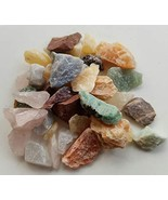 1/4 Lb Small Crafters Rock Collector Mix Gems Crystals Natural Mineral S... - $15.63