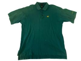 Lot 2 Masters Golf Tournament Augusta National Polo Shirt Men Sz XL Green Izod image 2