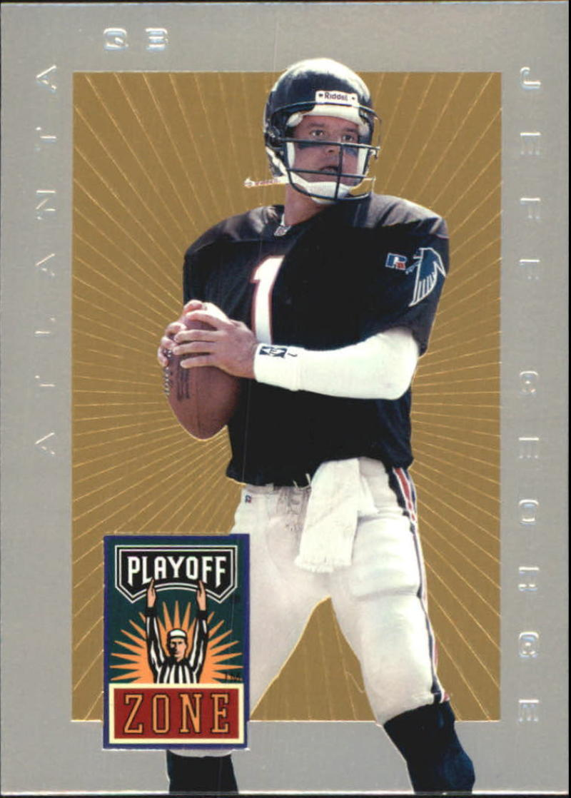 Primary image for 1996 Playoff Trophy Contenders Playoff Zone #PZ-5 Jeff George NM-MT Falcons