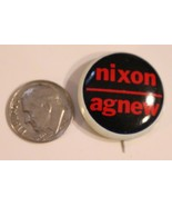 Nixon Agnew Pinback Button Political Richard Nixon President Vintage Spi... - $5.93