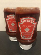 (2 Pack) Heinz HOT & SPICY Tomato Ketchup 14 oz. Tabasco Pepper New - $17.42