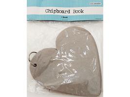Colorbok Heart Chipboard Book, Make a Mini Album! #55065