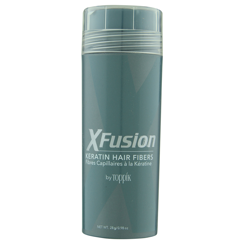 Primary image for XFusion Keratin Hair Fibers .98 oz /  28 g  Medium Brown