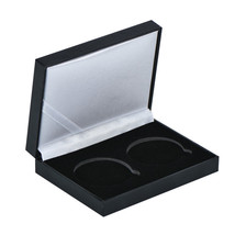 "WR Black Double Coin Display Storage Box Case for 2PCS 1.75"" Coin Collec... - $8.80"