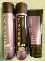 Matrix Total Results So Silver Shampoo & Conditioner 10oz duo + Mask 6oz... - $52.38